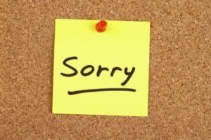 "The Soft Tyranny of ""I'm Sorry"""